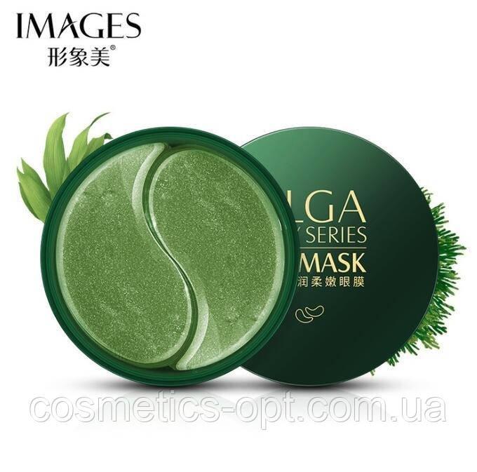 Гидрогелевые патчи с лечебной спирулиной IMAGES ALGA Lady Series Eye Mask, 60 шт