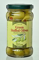 Оливки зеленые фаршированные перцем