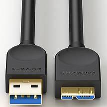 Kабель USB 3.0 – Micro USB Тип B Samzne (Shanze), фото 3