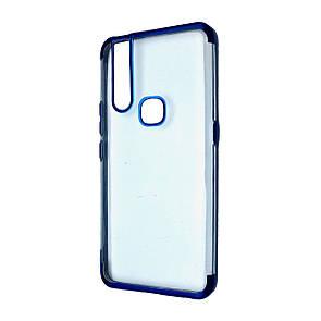 Чехол-накладка DK-Case Silicone Chromium Border Edge для Vivo V15 / S1 (blue)