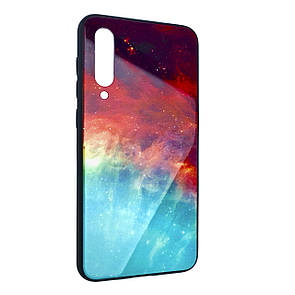 Чехол Glass Case Cosmos Xiaomi Mi 9 SE (01)