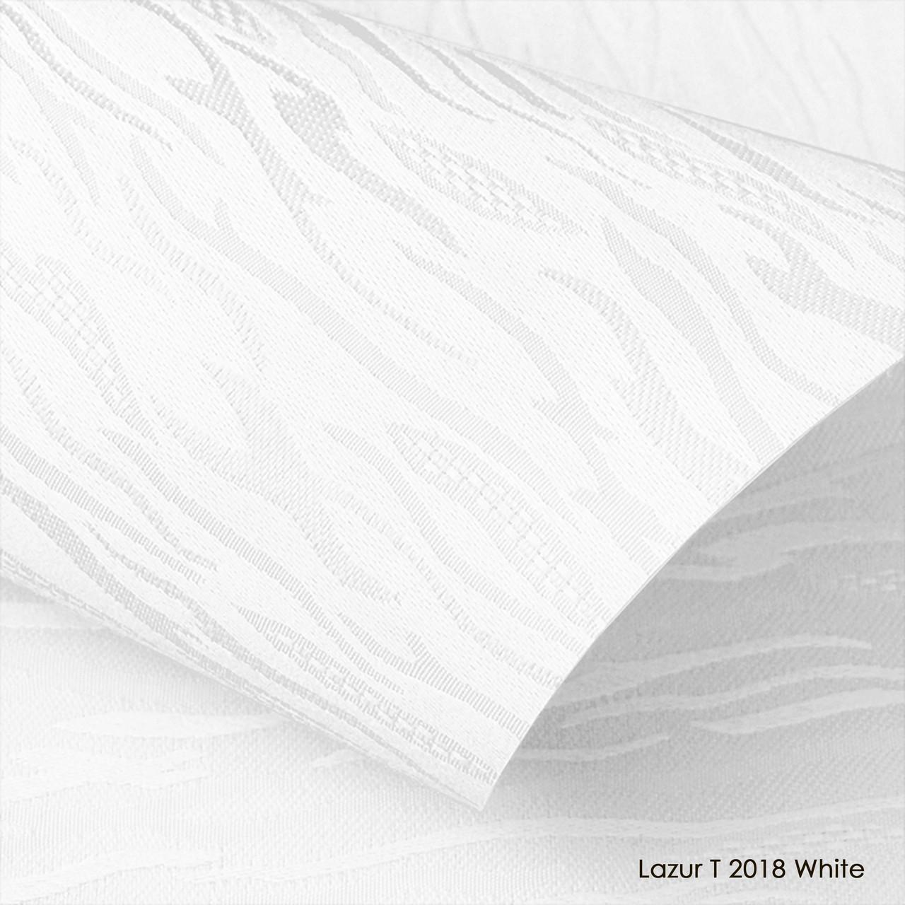 Ролеты тканевые Lazur T 2018 White