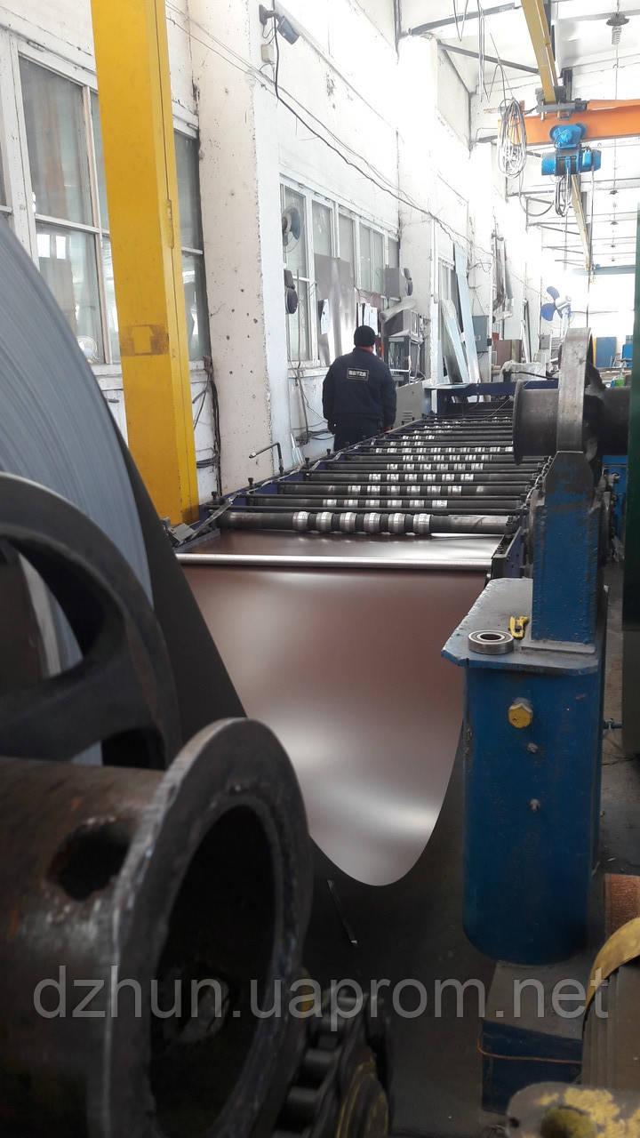 Производство стального крашеного профилированного листа