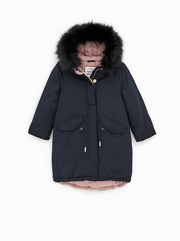 Пуховик Zara размер 164 см зимнее пальто для девочек подростков пуховики детские, фото 2