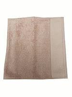 Махровое полотенце Saheser 100-150 см пудрового цвета, фото 1