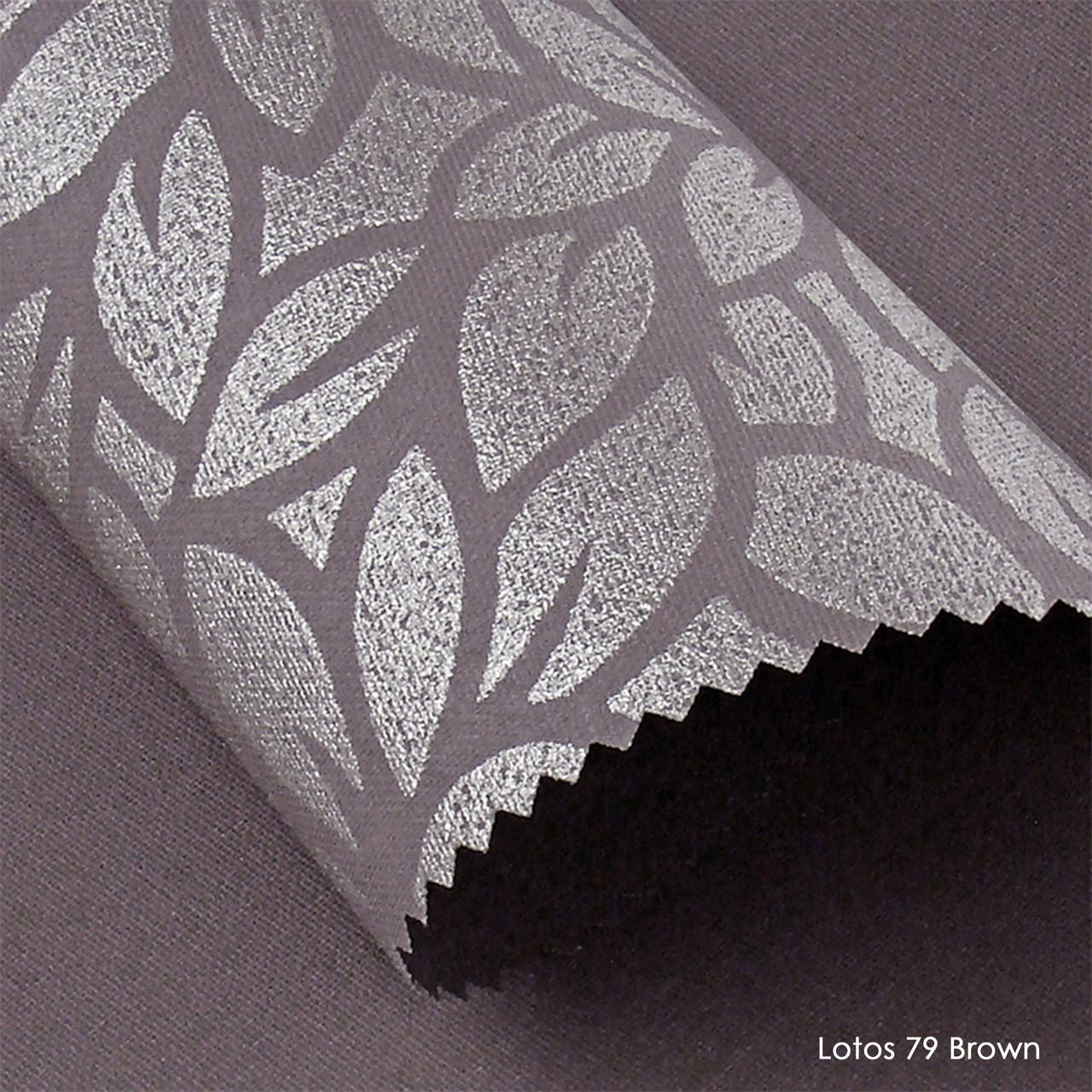 Ролеты тканевые Lotos 79 Brown