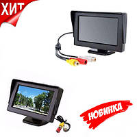 Автомонитор LCD 4.3'' для двух камер 043 (H224), фото 1