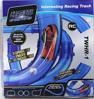 Светящиеся трубопроводные гонки CHARIOTS SPEED PIPES / трубопроводный автотрек / гоночный трек 27 деталей