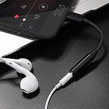 Переходник USB Type C на 3.5 мм Gocomma для наушников, гарнитуры, фото 3