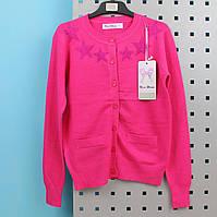 Вязанная кофта на девочку с пояском  тм Nice Wear размер 4 лет
