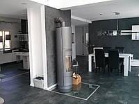 Отопительная печь камин на дровах  SEVILLA , каминофен,буржуйка, топка