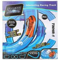 Светящиеся трубопроводные гонки CHARIOTS SPEED PIPES / трубопроводный автотрек / гоночный трек 37 деталей
