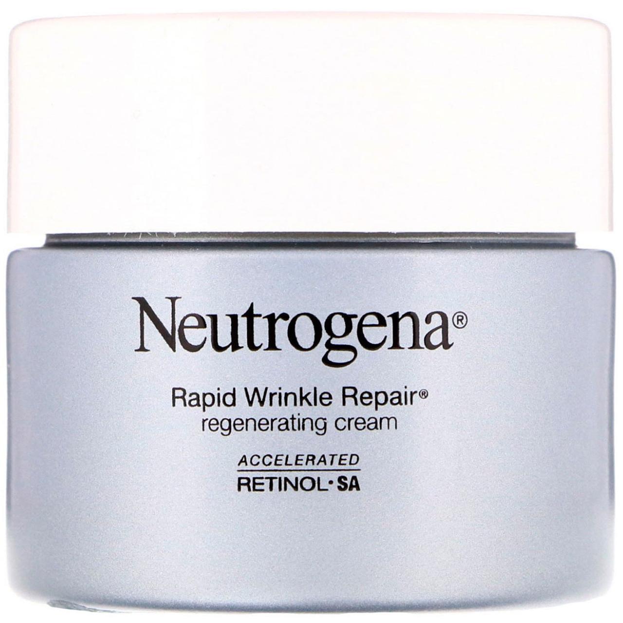 "Восстанавливающий крем против морщин ""Rapid Wrinkle Repair"" от Neutrogena, 48 г"