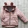 Куртка демисезонная детская оптом 1-5 лет
