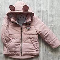 Куртка демисезонная детская оптом 1-5 лет, фото 1
