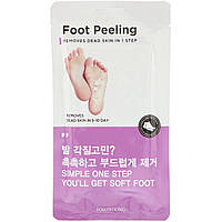 Tosowoong, Пилинг для ног, большой размер, 2 шт., по 20 г каждый