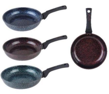 Сковорода с гранитным покрытием Ø22см. 3 цвета Edenberg EB-3405