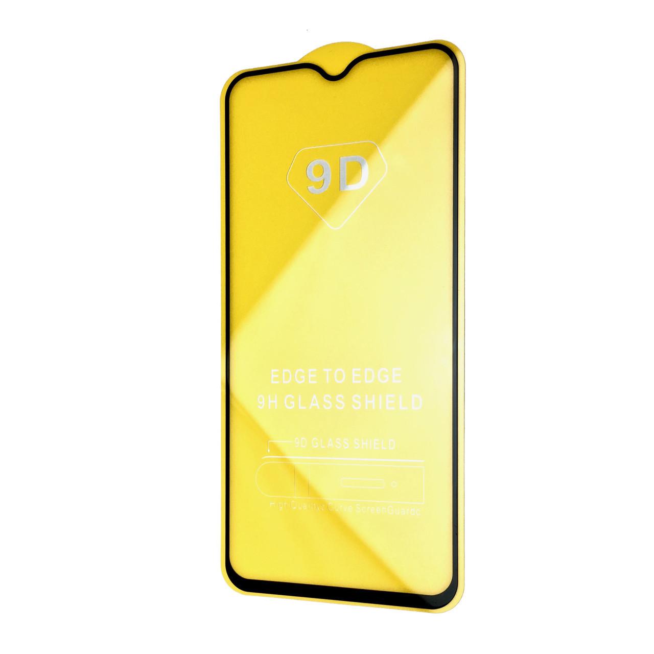 Защитное стекло Full Glue 9D OnePlus 6T (black)