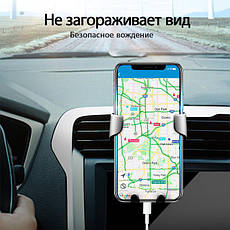 GETIHU универсальный автомобильный держатель смартфона, GPS (черный), фото 3