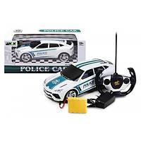 """Джип полиция на радиоуправлении, машинка Машина """"Поліція"""" (радіокерування, акум., коробка) 3699-AE5"""