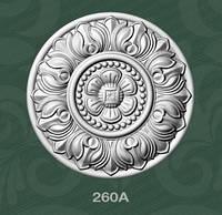 Потолочная розетка из пеноласта  260A Baraka Dekor