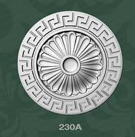 Потолочная розетка из пеноласта  230A Baraka Dekor