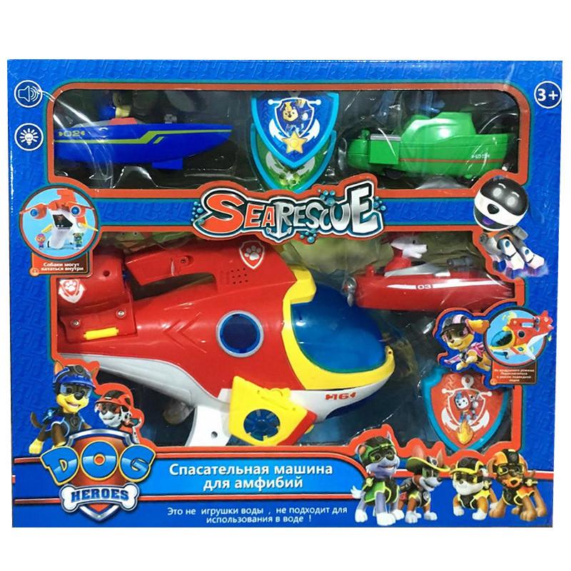 Щенячий патруль игровой набор Спасательная машина для амфибий
