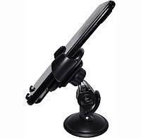 🔝 Автодержатель гравитационный для телефона в машину на присоске Car Holder H1771, Чёрный автомобильный 🎁%🚚