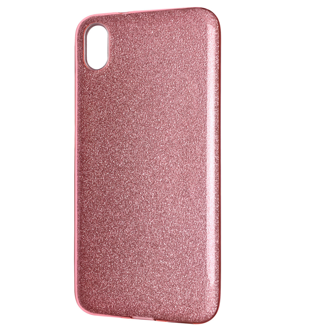 Чехол Silicone Glitter Heaven Rain Xiaomi Redmi 7A (light pink)