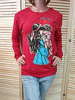 """Батник женский стильный MOMMY`S GIRL, размеры S-L (6 цветов) """"SHERRY"""" купить недорого от прямого поставщика"""