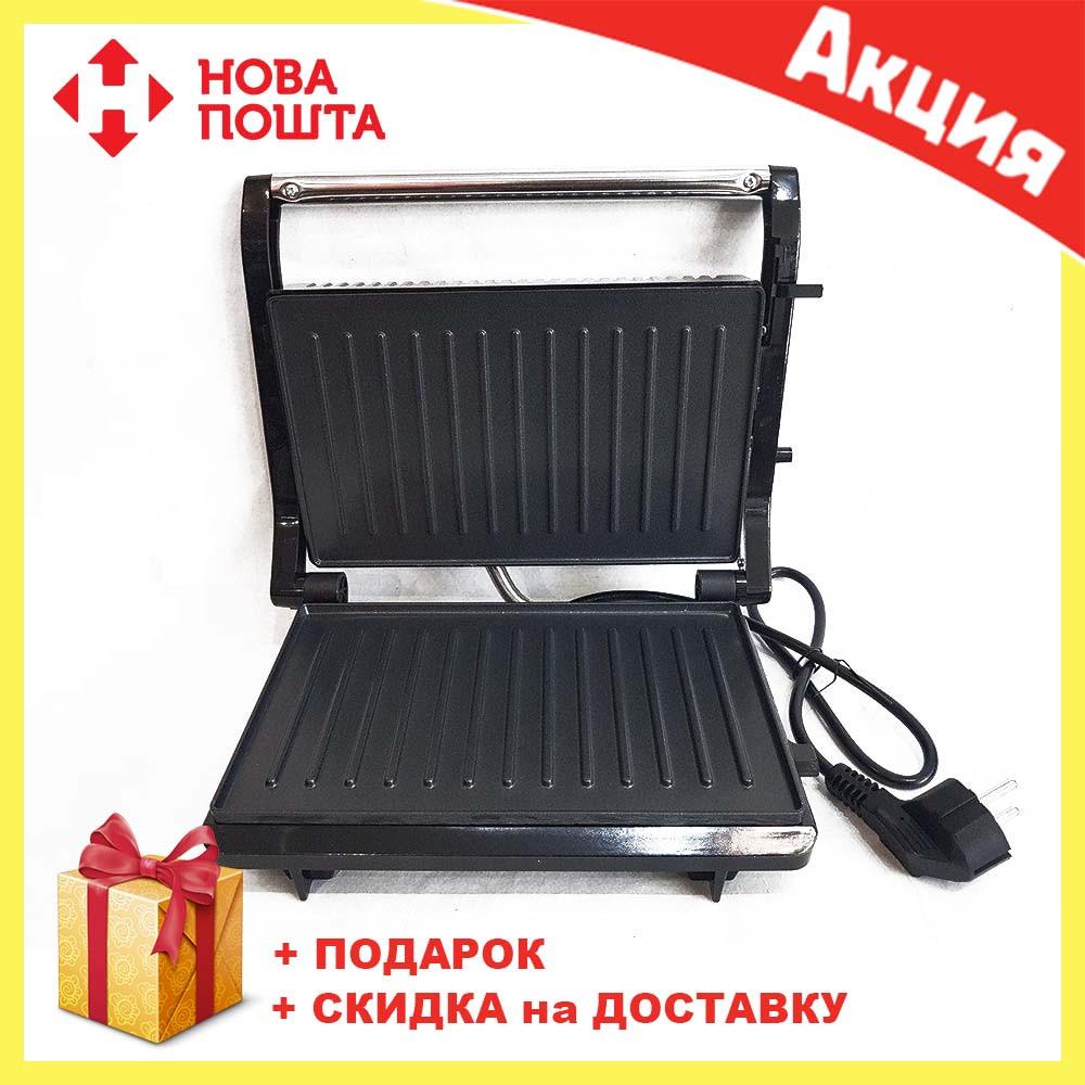 Гриль прижимной домашний Wimpex BBQ WX 1063 | тостер | сэндвичница | электрогриль | бутербродница
