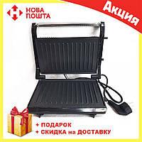 Гриль прижимной домашний Wimpex BBQ WX 1063 | тостер | сэндвичница | электрогриль | бутербродница, фото 1