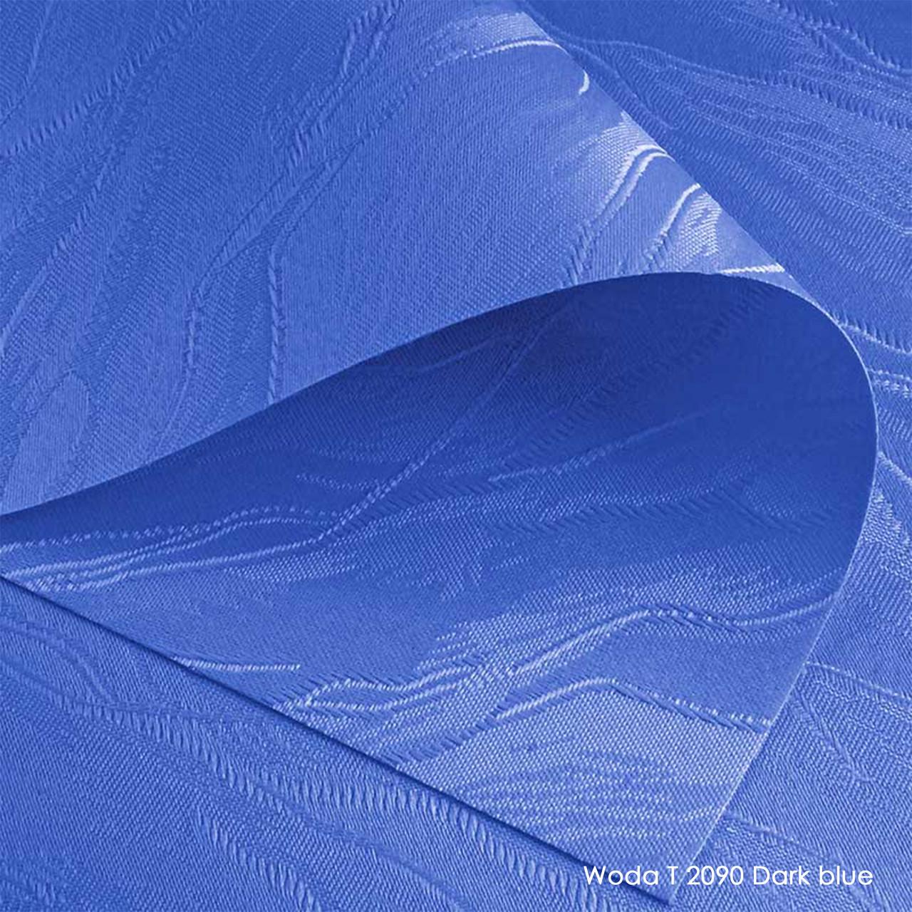 Тканевые роллеты Woda T 2090 Dark blue