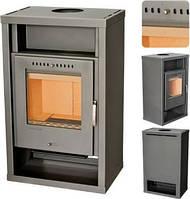 HORBY - Серая печь на дровах ,каминофен, современная буржуйка.