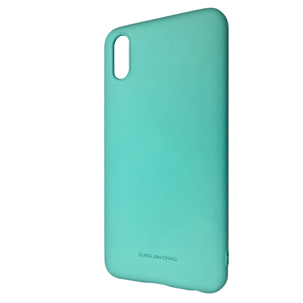 Чехол Silicone Hana Molan Cano Xiaomi Redmi 7A (mint)