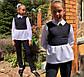 """Детский брючный костюм 728 """"Мадонна Воротничок Баска Контраст"""" в школьных расцветках, фото 5"""