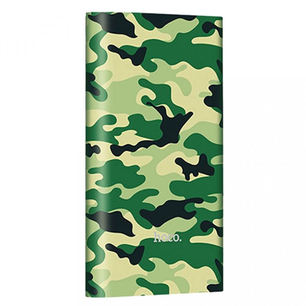 Power Bank Hoco 10000 mAh Camouflage Green