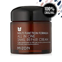 Улиточный многофункциональный крем для лица MIZON All In One Snail Repair Cream, 75 мл