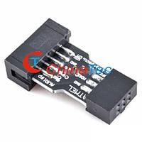 Адаптер 10 Pin на 6 Pin для ATMEL AVR ISP USBASP STK500 Convert