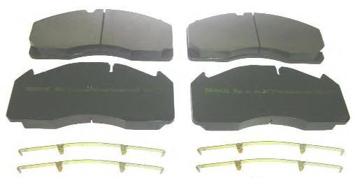 колодки тормозные передние volvo fh