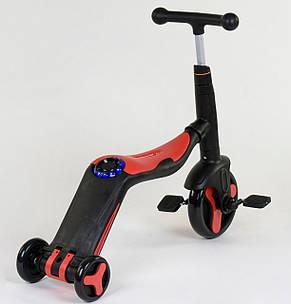 Самокат Best scooter  S868 3 в 1 с подсветкой и музыкой, фото 3