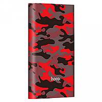 Power Bank Hoco 10000 mAh Camouflage Red, фото 1