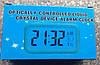 Часы настольные LED с датчиком освещенности и будильником, фото 4