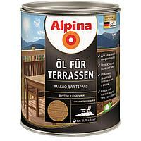 Масло террасное Alpina Oel Fur Terrassen 0,75 л