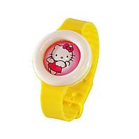 🔝 Детский антимоскитный браслет (репеллент) от укусов комаров | bikit monster - цвет желтый | 🎁%🚚