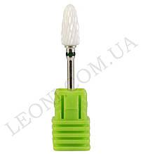 Керамическая фреза Кукурузка для снятия искусственного покрытия крупная зернистость (Зеленая)