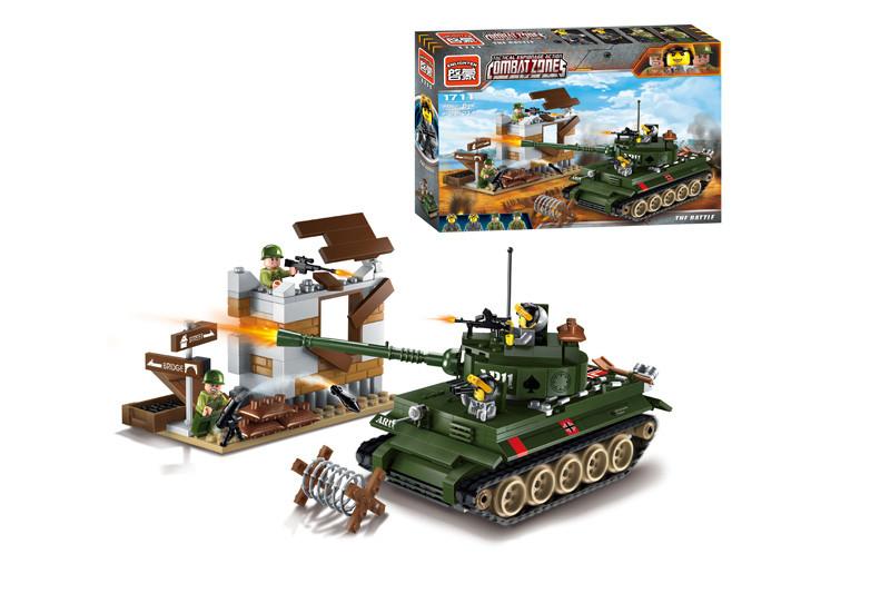 Конструктор лего  боевой танк