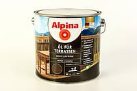 Масло террасное Alpina Oel Fur Terrassen 2,5 л