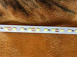 Светодиодная линейка 50 см на алюминиевой основе со скотчем. Напряжение 12V, тип светодиода 5630 - 36 штук, фото 5