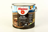 Масло террасное Alpina Oel Fur Terrassen 5 л